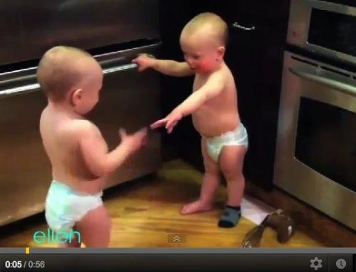 2 Babies Talking