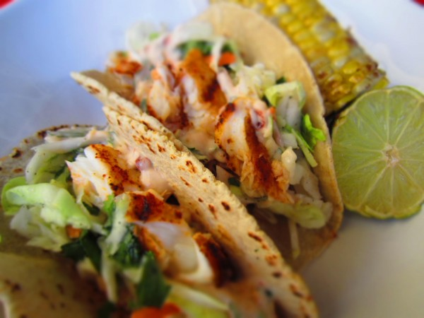 Grilled Fish Tacos with Chipotle-Lime Dressing | My Pregnancy SG